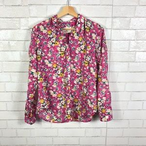 Anthropologie, Holding Horses, Floral Button Down